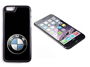 iPhone 6 Black Plastic Hard Case with High Gloss Printed Insert BMW