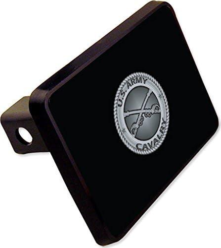 Army Cavalry Trailer Hitch Cover Plug Military Novelty U.S