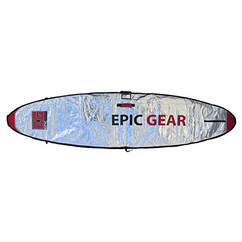 Epic Gear 2016 Day Wall Bag 7'10'' x 2'1'' (240 x 65 cm) SUP Bag, SUP Board Bag, Board Bag by Epic Gear
