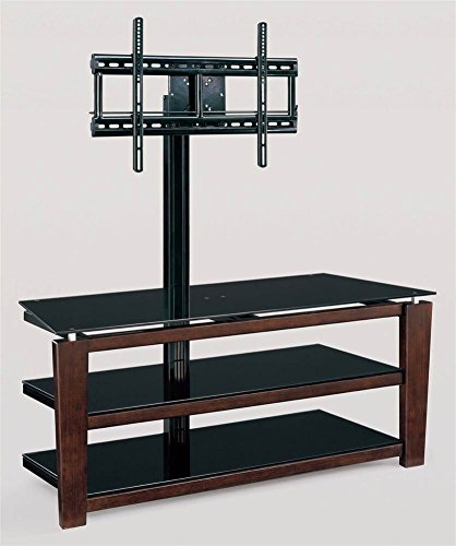 Flat Panel Credenza (Whalen Furniture XL-5 3-in-1 Flat Panel TV Stand, 52-Inch)