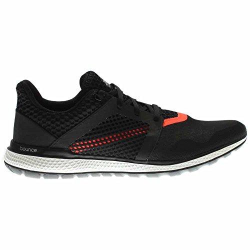 Adidas Performance Mens Energia Rimbalzo 2.0 Scarpa Da Corsa Nero / Grigio Scuro / Rosso Solare