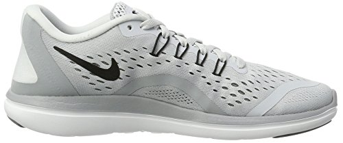 Running Sportive Free Grey Women's Pure Indoor Scarpe Shoe RN Black Sense cool Nike Platinum Grey Gris wolf Argento Donna w0I5q54