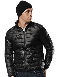 Packable Down Jacket For Men Outwear Lightweight Men's Puffer Jacket