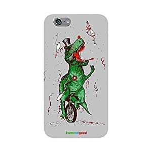 HomeSoGood Happy Birthday T-Rex Grey Case For iPhone 6 (Back Cover)