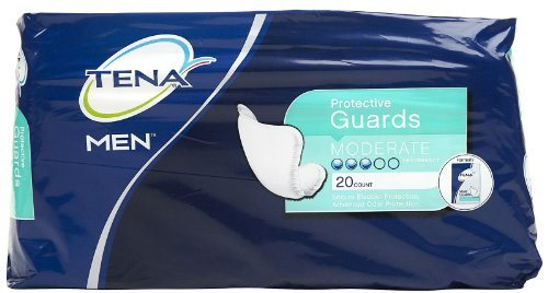 Serenity Male Guards - Tena Men Protective Guards-20ct by Serenity