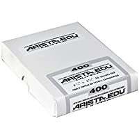 Arista EDU Ultra 400 ISO Black & White Film, 2.25x3.25, 50 Sheets