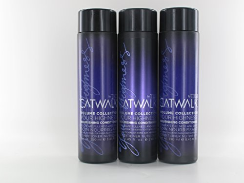 Volume Collection Catwalk Tigi (TIGI Catwalk Volume Collection Your Highness Nourishing Conditioner 8.45 Pack Of 3)