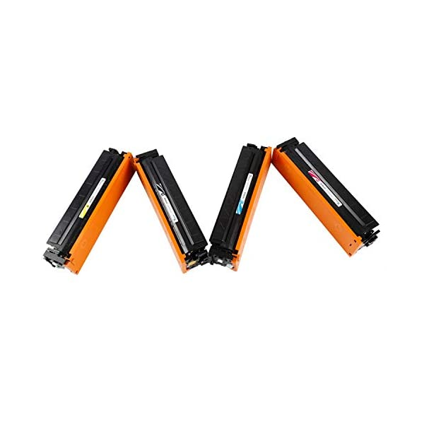 Proffisy 201A for HP CF400A CF401A CF402A CF403A Toner Cartridge CF400 Compatible HP Color Laserjet Pro M252dw,M252n,MFP M274n,MFP M277dw,MFP M277n Black Cyan Yellow Magenta (4 Color)