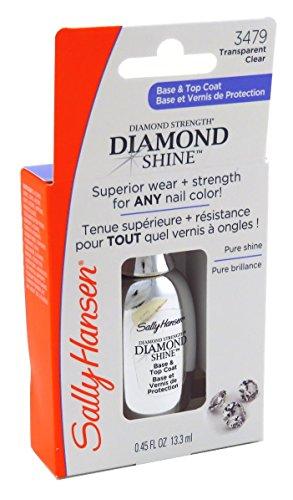 Sally Hansen 3479 Diamond Shine Base and Top Coat Nail Polish, 2 Pack by Sally Hansen