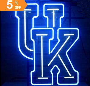 "New Star neon Factory 17""x14"" UK University of Kentucky Wildcats Real Glass Neon Sign Light for Beer Bar Pub Garage Room."