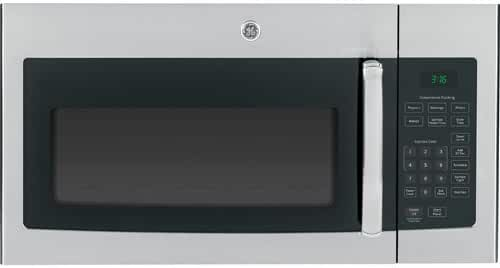 GE JVM3160RFSS Over-the-Range Microwave Oven, 1.6 cu. ft, Stainless Steel Finish