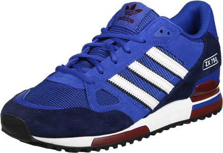 ZX Basses Blanc Bleu Homme adidas 750 Sneakers SqdZn7O7