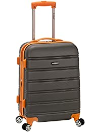 Melbourne 20 Inch Expandable ABS Carry On, Charcoal, One...
