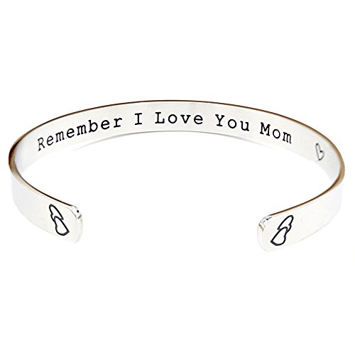 ORIYA Remember I Love You Mom Mothers Day Gift Gifts For From Daughter Forever And Always Grey