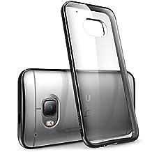 HTC One M9 Case, [Scratch Resistant] i-Blason **Clear** [Halo Series] HTC One Hima M9 Hybrid Bumper Case Cover (Clear/Black)