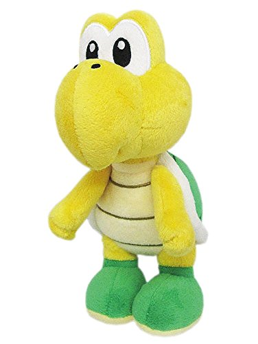Little Buddy Super Mario All Star Collection 1425 Koopa Troopa Stuffed Plush, 7