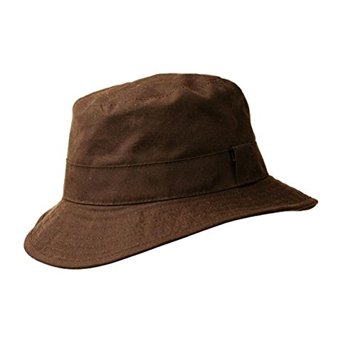 KakaduTraders Australia Buckle Hat from Microsoft Oilskin Canvas -