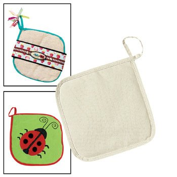 Design Your Own Customizable Pot Holders - Craft Kits & Projects & Design Your Own (Canvas Pot Holders compare prices)