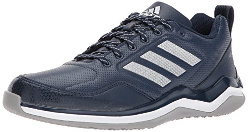 adidas Men's Freak X Carbon Mid Cross Trainer, Collegiate Navy, Silver Met, FTWR White, 11 M US