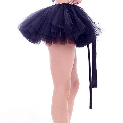 Pettiskirts Diamondo Dance Mini Black Princess Tutu Multilayers Bowknot Women Ballet Tulle r6twrqzg