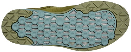 SALEWA WS Ramble GTX, Zapatillas de Senderismo Para Mujer Marrón/Verde (Bamboo/Willow Green 5290)