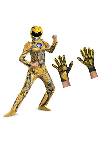 Yellow Power Ranger Costume Child (Little Girls' Yellow Power Ranger Kids Costume Set)