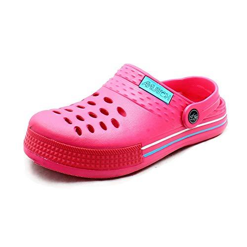 Mesdames Sandales Caoutchouc De Plage Chaussures Pink en SSxAw