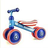 @Y.T Coche de Equilibrio para niños, vehículo de Cuatro Ruedas para niños, automóvil de Giro, automóvil de Juguete, Apto para bebés de 1-2 años