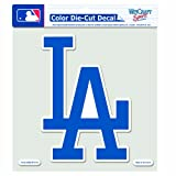 MLB Los Angeles Dodgers 8-by-8 Inch Diecut Colored Decal
