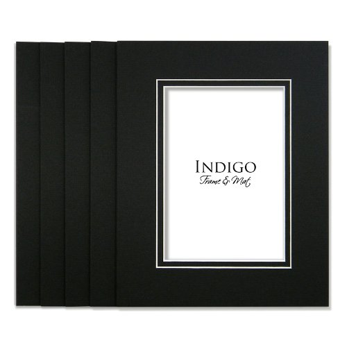 SET of 10 - GREATPACK 16x20 White / White Double Mats- Fit 11x14 Photo Art