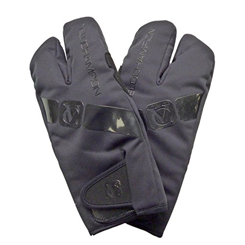 VC Comp Pro Winter Lobster Gloves - Black (Black Comp Gloves)