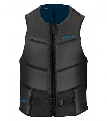 (O'Neill Mens Outlaw Comp Vest, Black/Blue, Large )