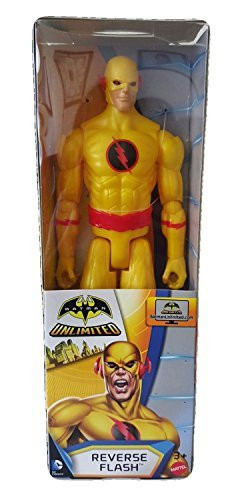 DC Comics Batman Unlimited Reverse Flash 12 Action Figure New 2015