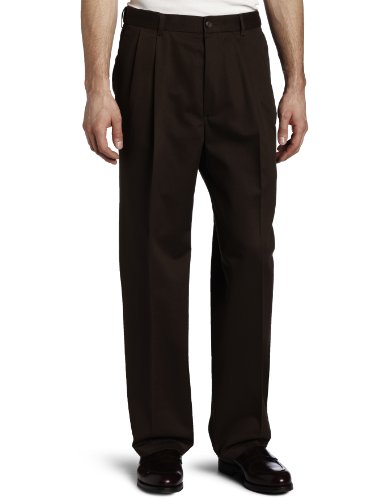 Haggar Weekend No Iron Pleat Front Expandable