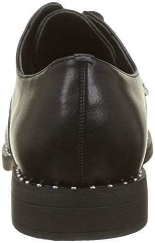 Negro Zapatos Cordones Derbystuds Mujer de Noir Derby para Pimkie Crs18 8gEwR