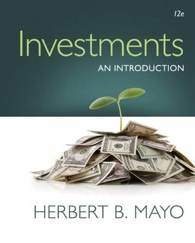 Investments: An Introduction (with Stock-Trak Coupon) by South-Western College Pub