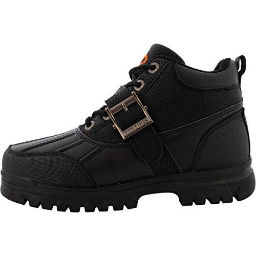 [Viking - Boy's Iriving Low-cut Boots (Big Kid)] (Black Kids Boots)