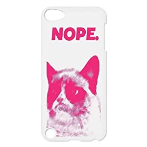 Nope Design Discount Personalized Hard Case Cover for iPod Touch 5, Nope iPod Touch 5 Cover Kimberly Kurzendoerfer