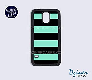 Galaxy Note 2 Case - Green Black Stripes