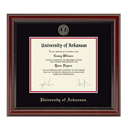(M. LA HART University of Arkansas Bachelors/Masters Diploma Frame, The Fidelitas)