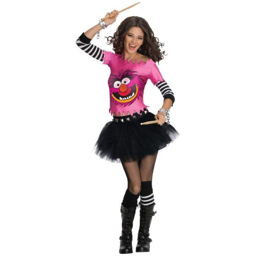 Secret Wishes  The Muppets Animal Costume Dress, Pink, Medium -