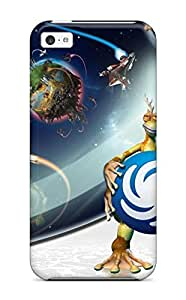 High-quality Durability Case For Iphone 5c(spore Galactic Adventures) 6117024K64383952