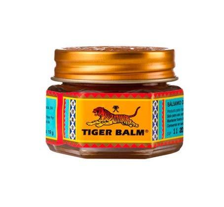 QLQ Ungüento 100% Original de bálsamo de Tigre Rojo Ungüento de analgésico de Tailandia Ungüento para aliviar el Dolor Muscular Calmar la picazón (19.5g)