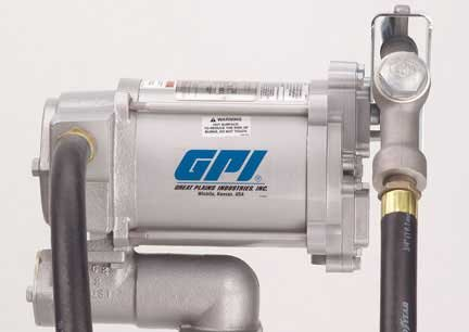 GPI 133212-01 Aluminum M-3220-ML Heavy Duty Vane Pump, 230V AC, 76 LPM at 60Hz