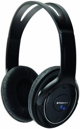 Polaroid Bluetooth Wireless Headphones Black