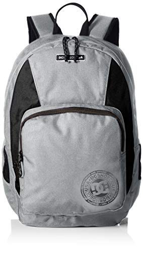 DC Men's The Locker Backpack, Grey Heather, 1SZ ()