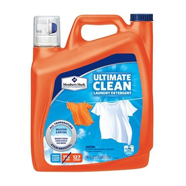 Member's Mark Ultimate Clean Liquid Laundry Detergent (196 oz., 127 loads) (pack of 2)