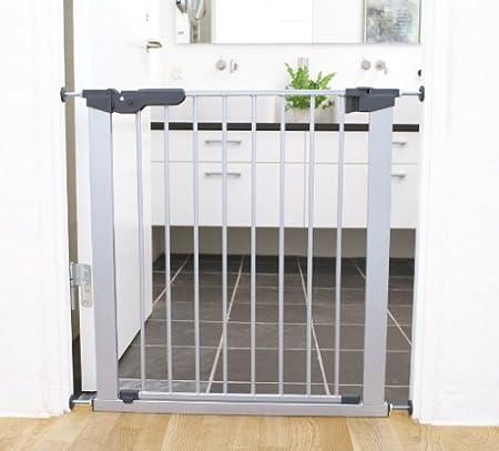 Silver BabyDan Premier Pressure Indicator Safety Gate