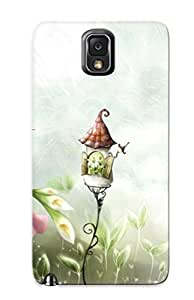 GkUGmRQ2819PaYpX With Unique Design Galaxy Note 3 Durable Tpu Case Cover Woman With Umbrella
