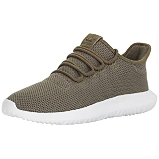 adidas Originals Men's Tubular Dusk Running Shoe, Olive Cargo/Olive Cargo/White, 9.5 M US
